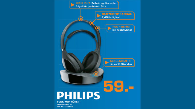 Philips SHD 8600 UG © Saturn