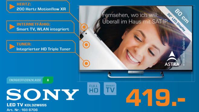 Sony KDL32W655 ©Saturn