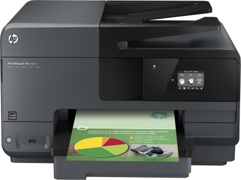 Hewlett-Packard HP Officejet Pro 8610 e-All-in-One (A7F64A) © Hewlett-Packard