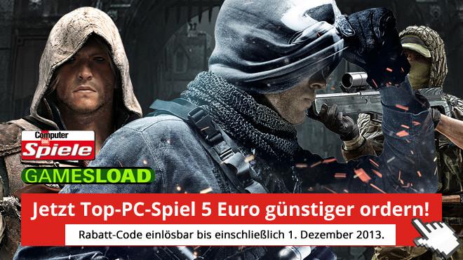 Partnerangebot ©COMPUTER BILD SPIELE, Gamesload, Gamesload, Activision Blizzard, Ubisoft, EA