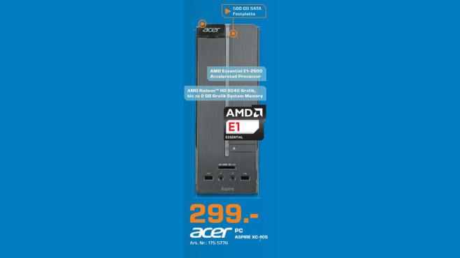 Acer Aspire XC 105 ©Saturn