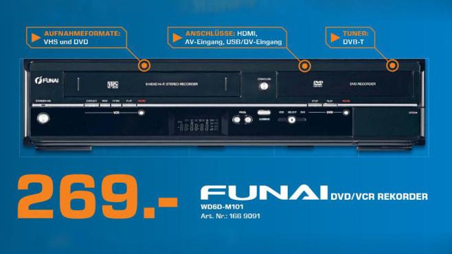 Funai WD6D-M101 ©Saturn
