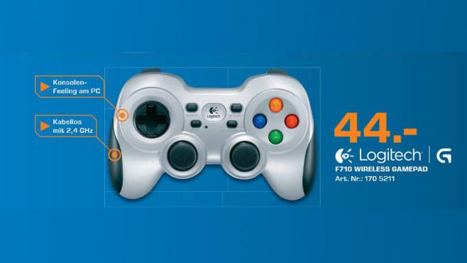 Logitech PC Wireless Gamepad F710 ©Saturn