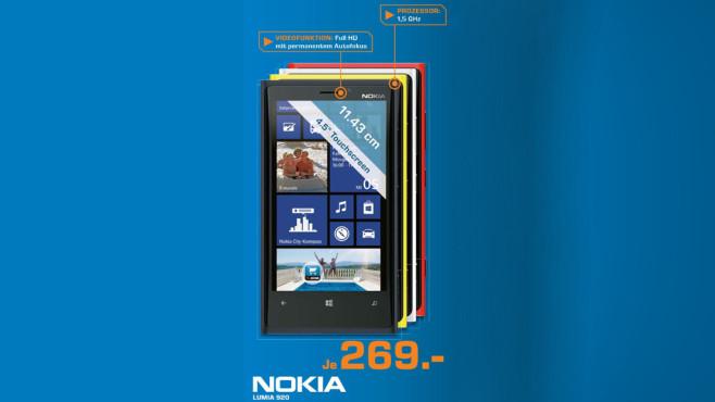 Nokia Lumia 920 ©Saturn