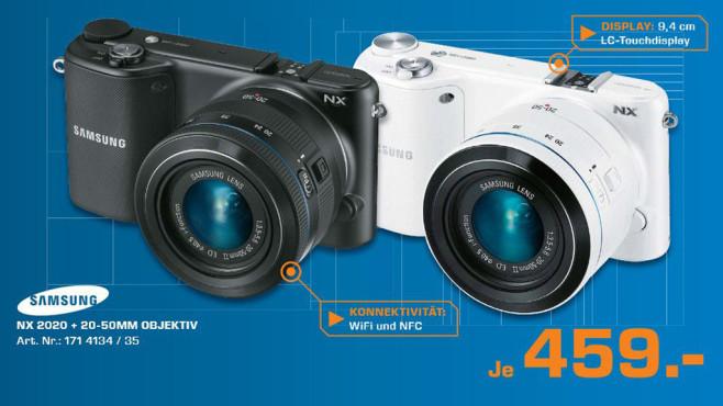 Samsung NX2000 Kit 20-50mm ©Saturn