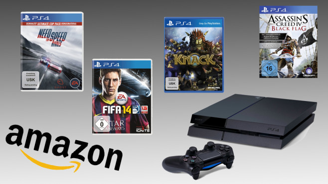 Amazon: Playstation-4-Spiele vorbestellen © Amazon