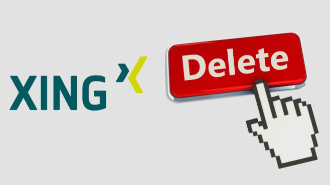 Xing-Profil löschen – So geht's ©Xing, COMPUTER BILD