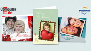 Individuelle Weihnachtskarten zum Vorteilspreis ©Pixelnet