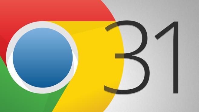 Google Chrome 31 ©COMPUTER BILD, Google