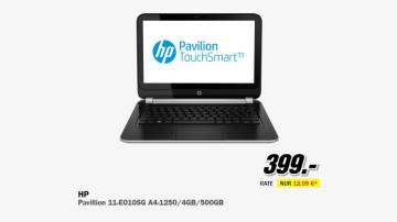 Hewlett-Packard HP Pavilion TouchSmart 11-e010sg (E7F48EA) ©Media Markt