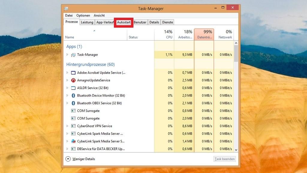 Windows 8 1 Schneller Machen windows 7 8 10 unnötige autostart programme deaktivieren bilder