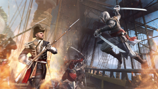 Actionspiel  Assassins Creed 4: Kampf © Ubisoft