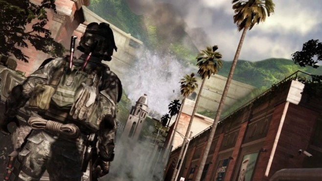 Actionspiel CoD: Ghosts: Soldat © Activision
