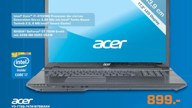 Acer V3-772G-747A1675MAKK ©Saturn
