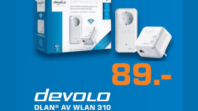 Devolo DLAN AV WLAN 310 © Saturn