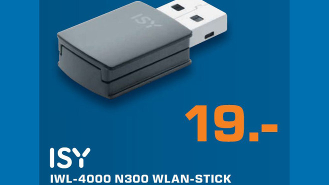 ISY IWL-4000 N300 WLAN-Stick © Saturn