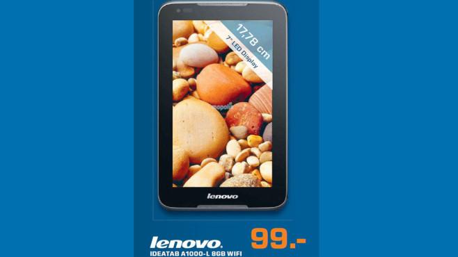Lenovo IdeaTab A1000-L 8 Gigabyte WIFI ©Saturn