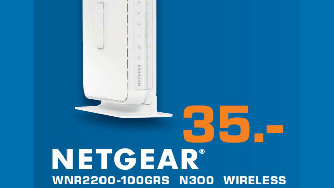 Netgear WNR-2200-100GRS N300 Wireless © Saturn