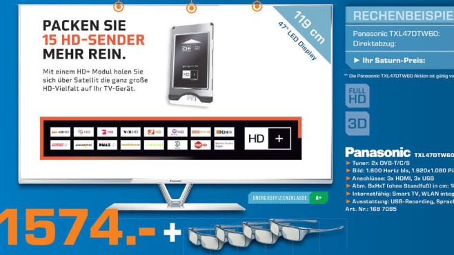 Panasonic TXL47DTW60 ©Saturn