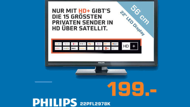 Philips 22PFL2978K © Saturn