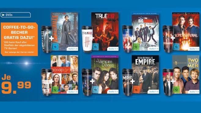 Serien auf DVD ©Saturn