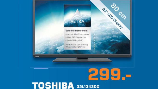 Toshiba 32L1343DG ©Saturn