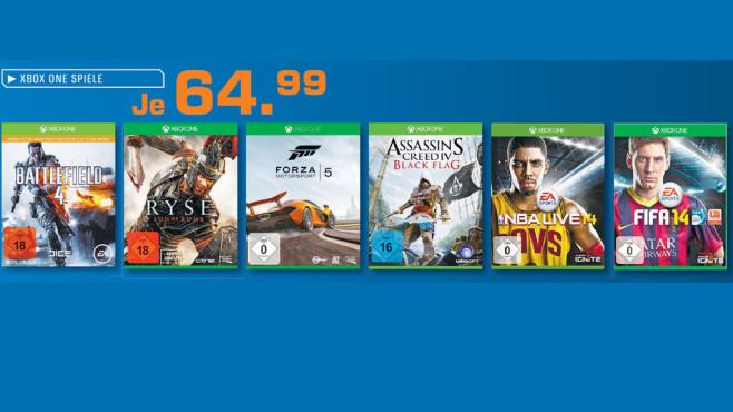Xbox-One-Spiele ©Saturn