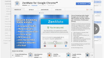ZenMate im Chrome-Browser © Google