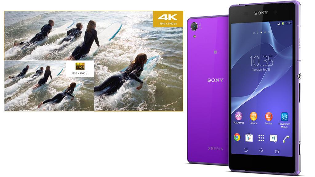Smartphone Sony Xperia Z2 ©Sony