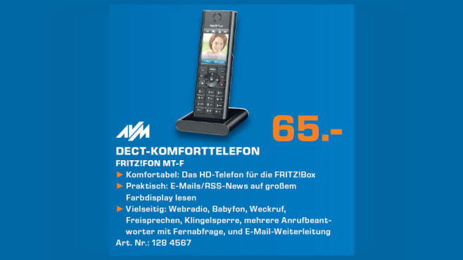 AVM FRITZ!Fon MT-F Single © Saturn
