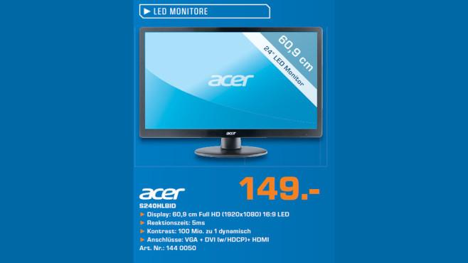 Acer S240HLBID ©Saturn