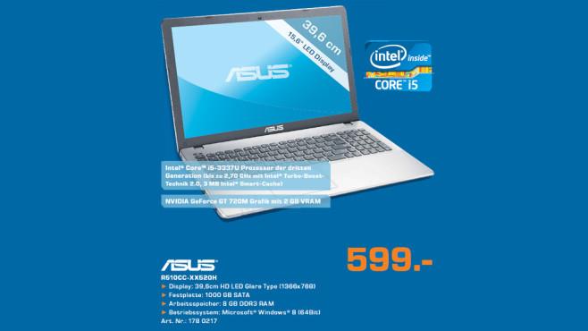Asus R510CC-XX520H ©Saturn