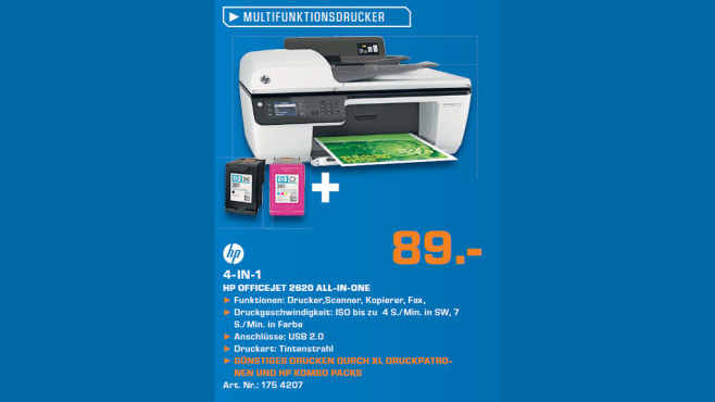 Hewlett-Packard HP Officejet 2620 © Saturn