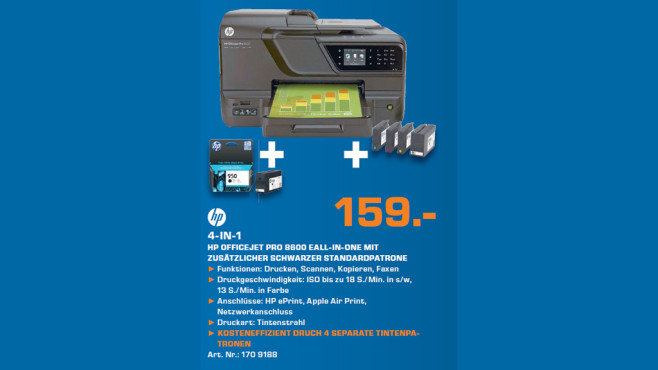 Hewlett-Packard HP Officejet Pro 8600 N911a (CM749A) © Saturn