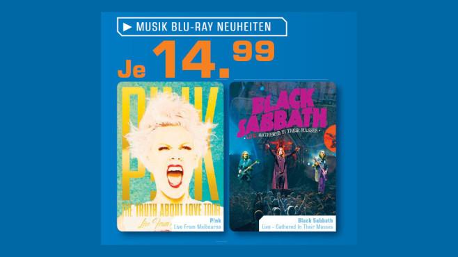 Musik-Blu-rays ©Saturn