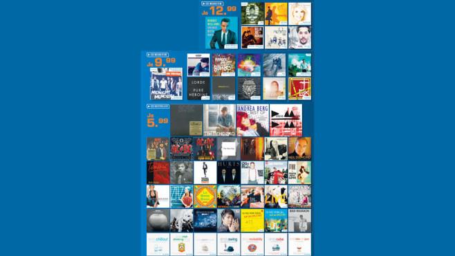 Musik-CDs ©Saturn
