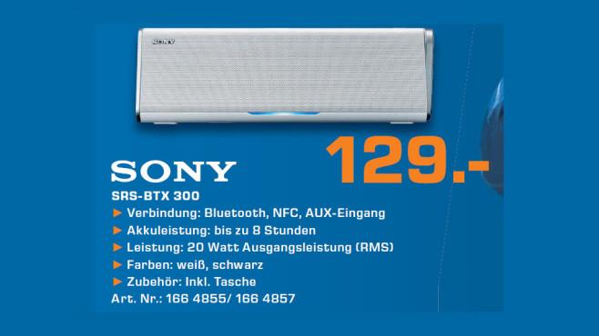 Sony SRS-BTX300 ©Saturn