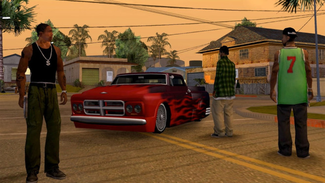 gta san andreas ios version ist da computer bild spiele. Black Bedroom Furniture Sets. Home Design Ideas