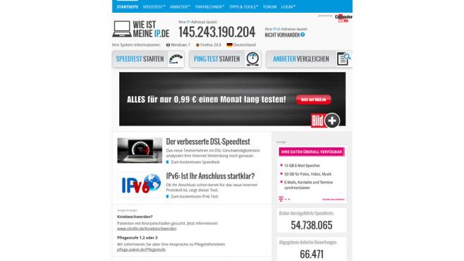 Wie ist meine IP Screenshot Desktop ©COMPUTER BILD