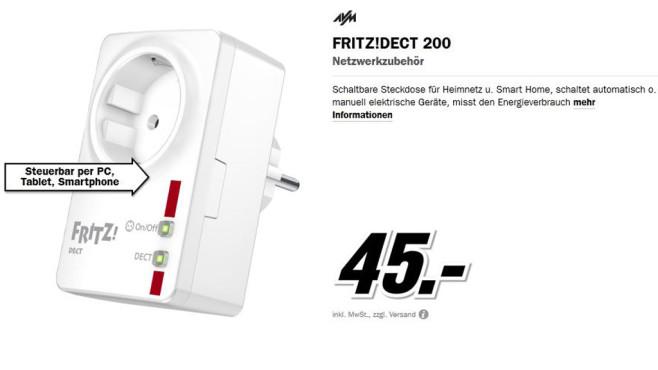 AVM Fritz!DECT 200 ©Media Markt