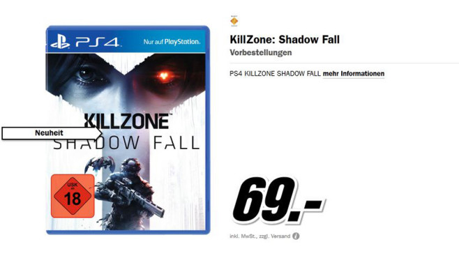 Killzone: Shadow Fall © Media Markt