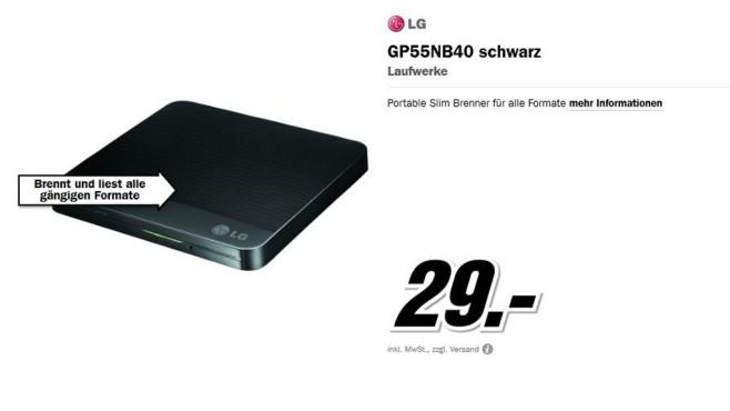 LG GP55NB40 ©Media Markt