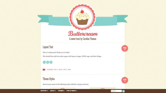 Screenshot Buttercream-Theme © COMPUTER BILD