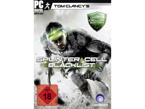 Tom Clancy's Splinter Cell – Blacklist – Digital Deluxe Edition ©Amazon