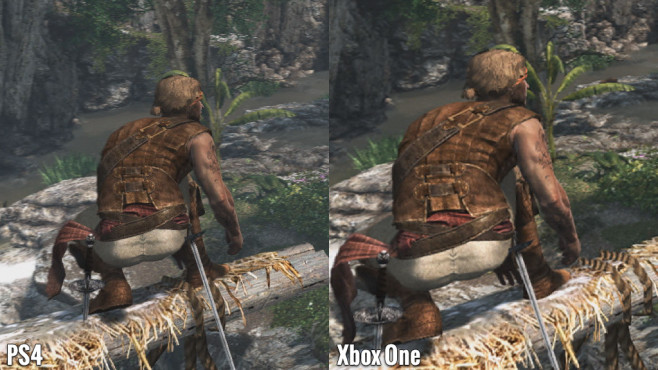 Actionspiel Assassin's Creed 4 – Black Flag: Edward - PS4 vs. Xbox One © Ubisoft