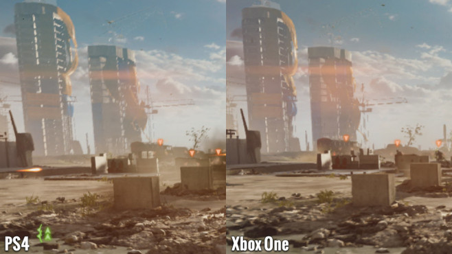 Actionspiel Battlefield 4: Hintergrund - PS4 vs. Xbox One © Electronic Arts