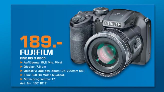 Fujifilm FinePix S6800 ©Saturn