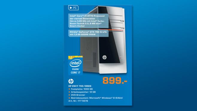 Hewlett-Packard HP ENVY 700-165eg (E8R83EA) ©Saturn