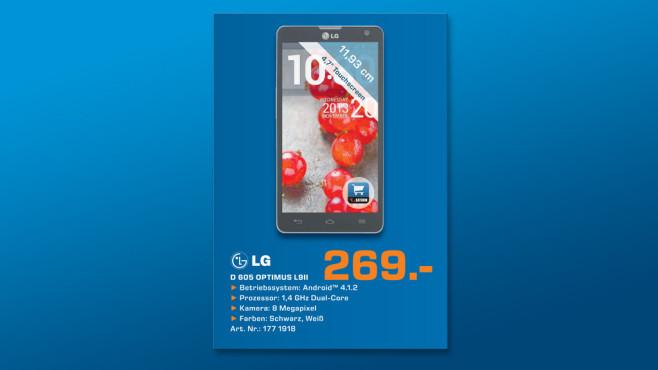 LG Optimus L9 II ©Saturn
