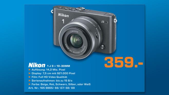 Nikon 1 J3 Kit 10-30 mm ©Saturn